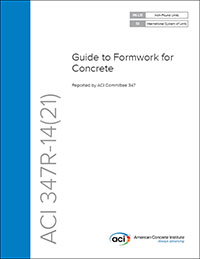 SP-4 (14) Formwork for Concrete 8th Edition