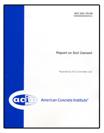 230 1R-09: Report on Soil Cement