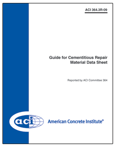 546 2r 10 guide to underwater repair of concrete rh concrete org aci concrete repair manual pdf ACI Manual of Concrete