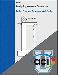 basement wall design. On-Demand Course: Design Example: Buried Concrete Basement Wall P