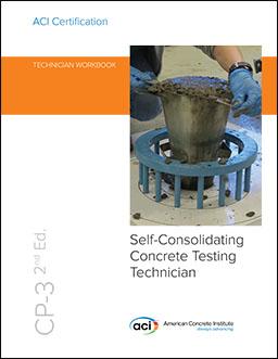 Slump flow of self-consolidating concrete