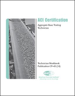 E-1(16) Aggregates for Concrete