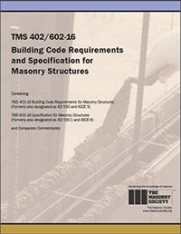 Aci store tms 402602 building code requirements and specifications for masonry structures 2016 formerly aci 530 fandeluxe Choice Image